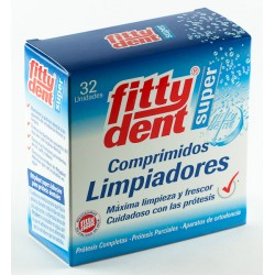 FITTYDENT SUPER COMP LIMPIEZA PROTESIS DENTAL 32 COMP