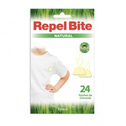 REPEL BITE NATURAL PARCHES ROPA CON CITRONELLA 24 APLICACIONES