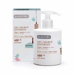 SUAVINEX PEDIATRIC GEL CHAMPU ESPUMOSO 400 ML