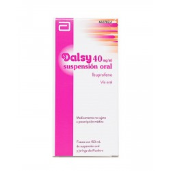 DALSY 40 MG/ML SUSPENSION ORAL 150 ML